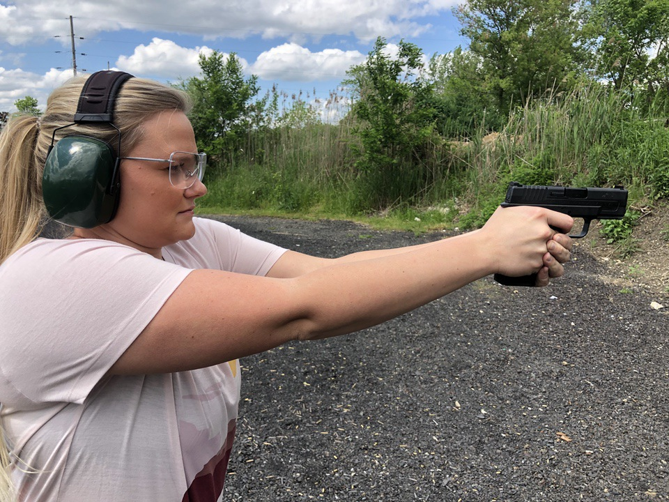 Shooting Springfield XD-S First Trip to the Range Concealed Carry