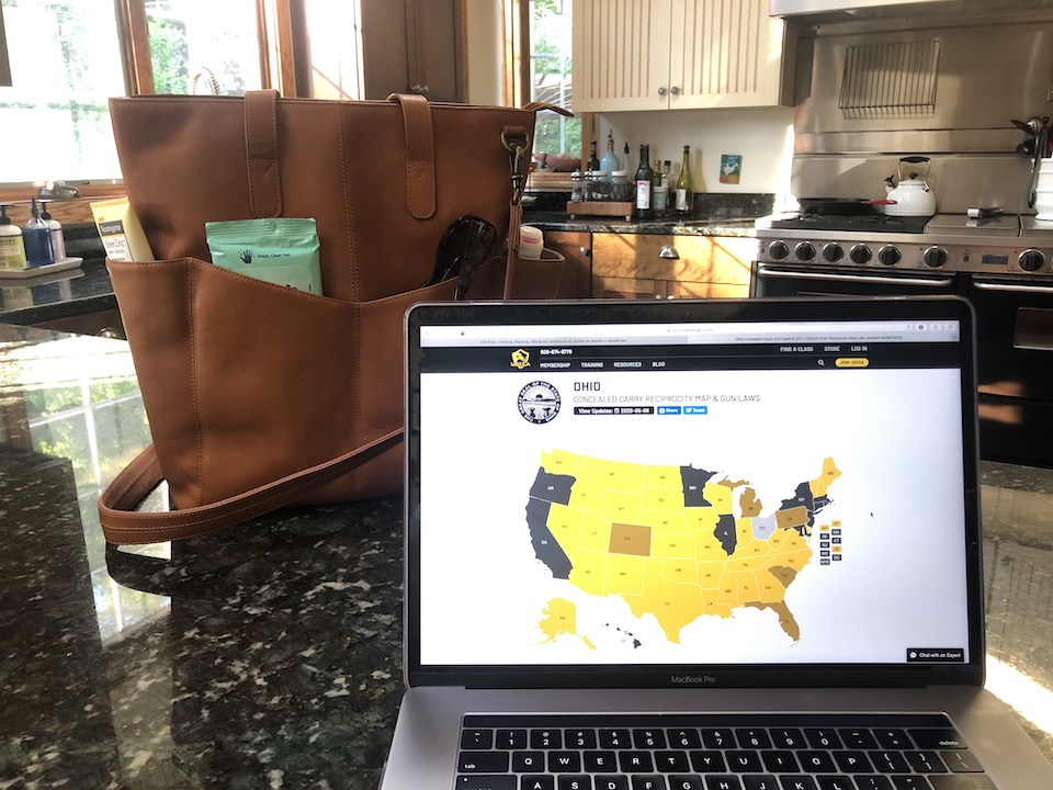 USCCA Website and GTM-107 Carrying Concealed