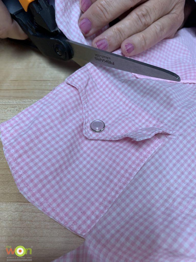 cutting sachet bag