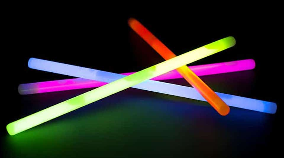 glow sticks night lights