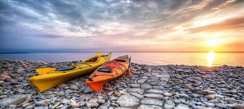 history-of-kayaks water sport