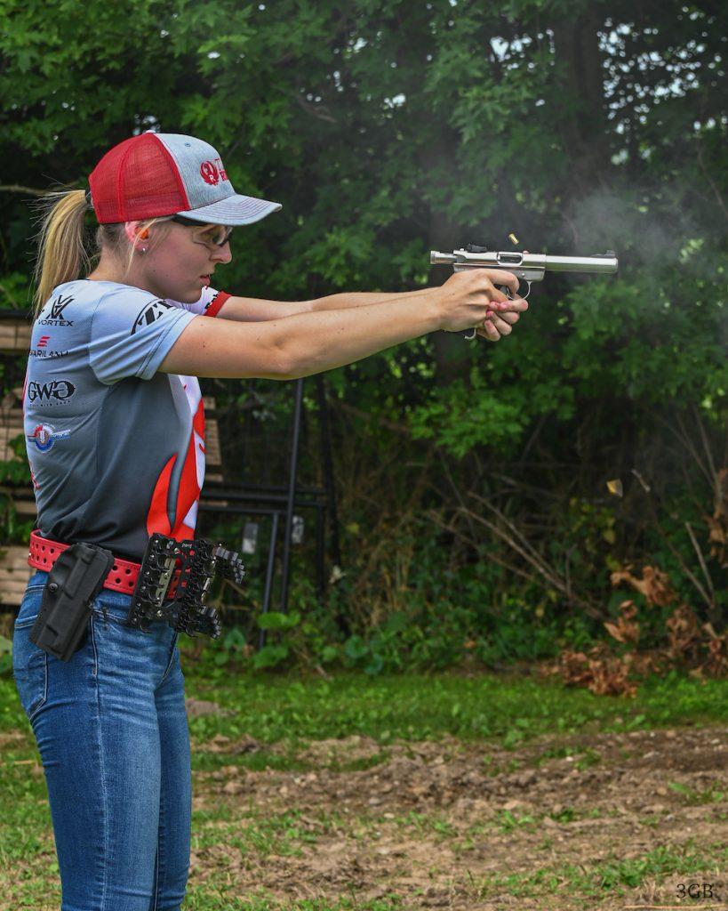 Beth Shooting Ruger Mark III