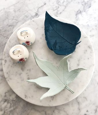 Easy Clay Leaf Bowls Feature