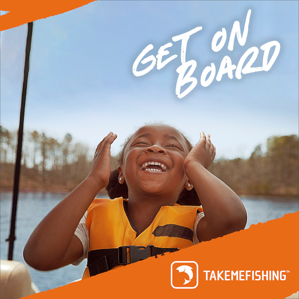 Discover Boating and Take Me Fishing Launch 'Get On Board'