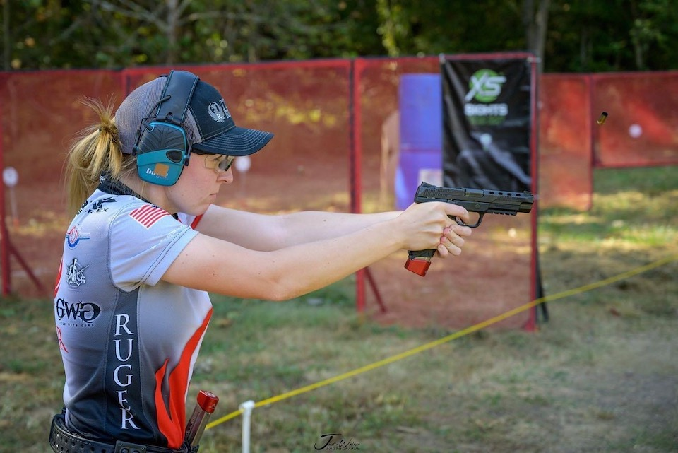 Match with Ruger American Competition Pistol