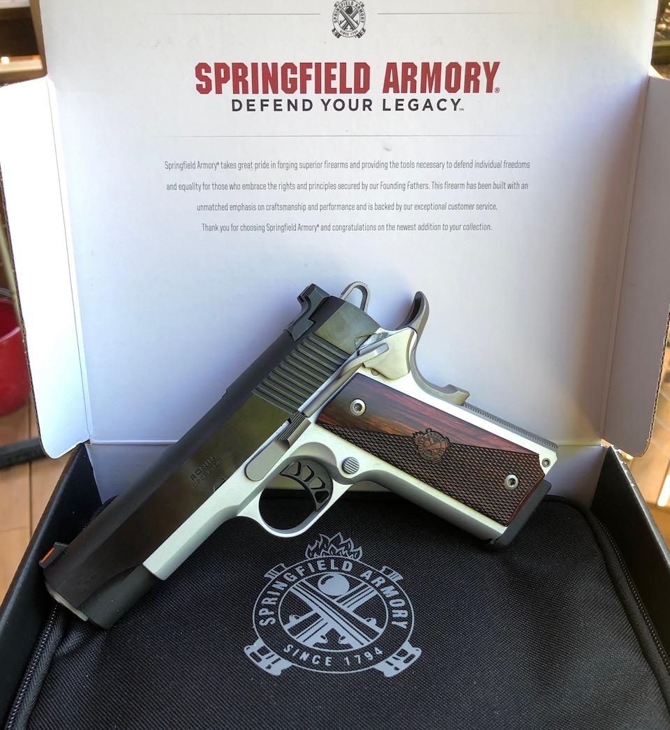 Springfield 1911 Ronin operator 4.25-inch 9mm in box