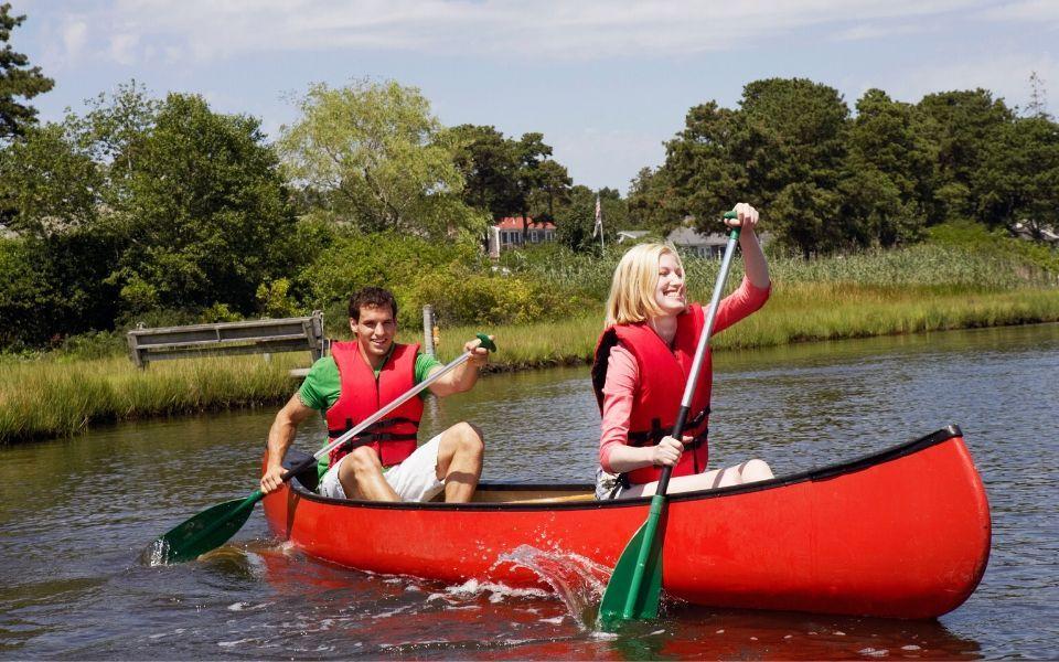 canoeing Family Canoe Trip