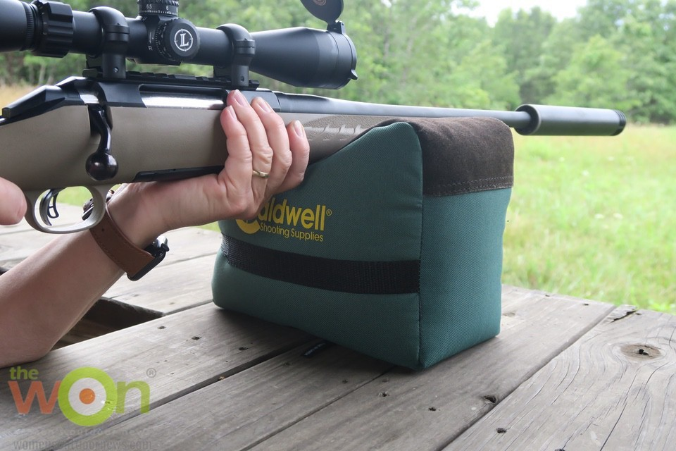 ruger leupold and SilencerCo Harvester