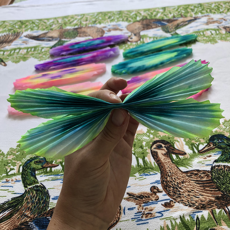 Colorful Coffee Filter Butterflies Pinch