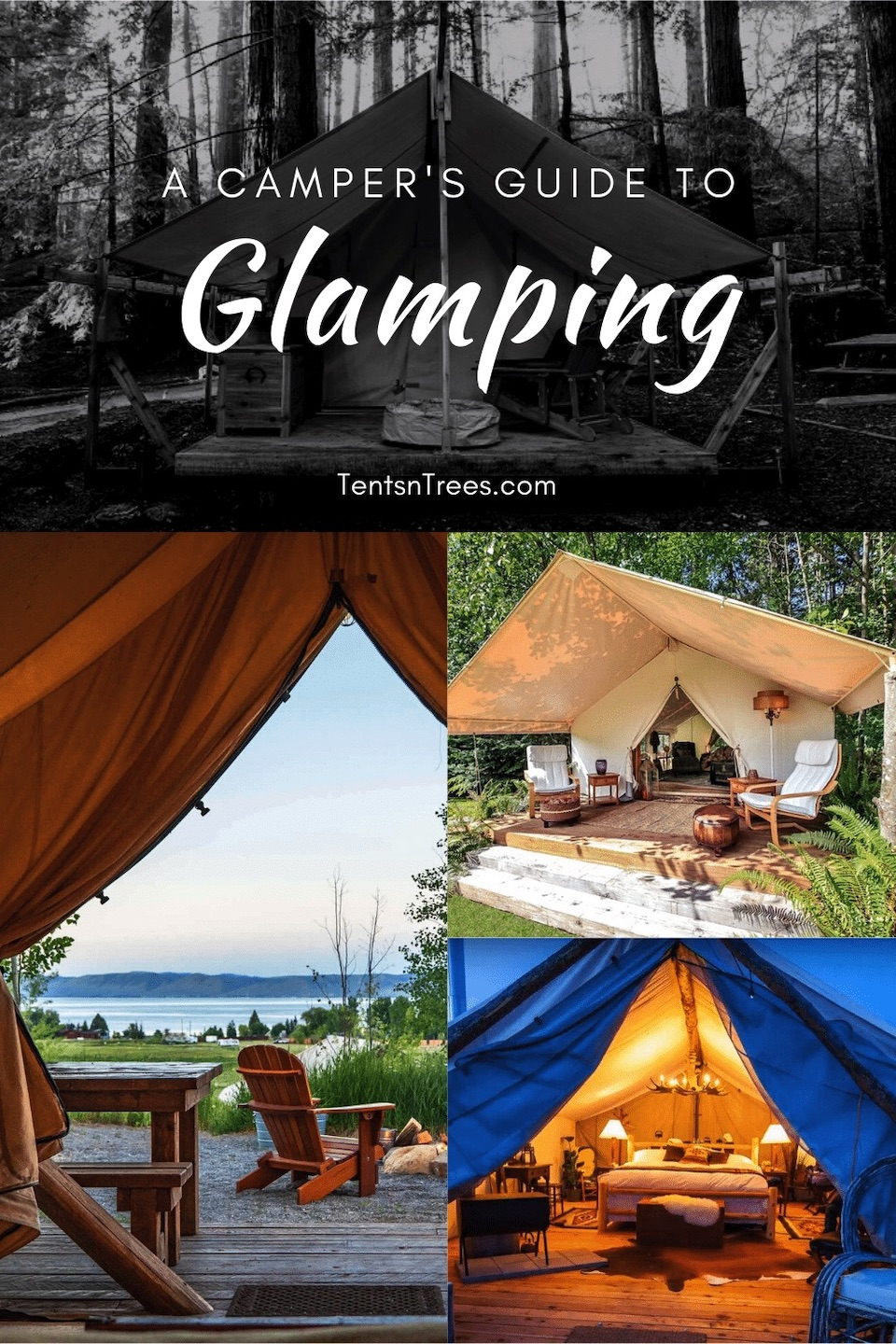 Tents n Trees: Camper's Guide to Glamping