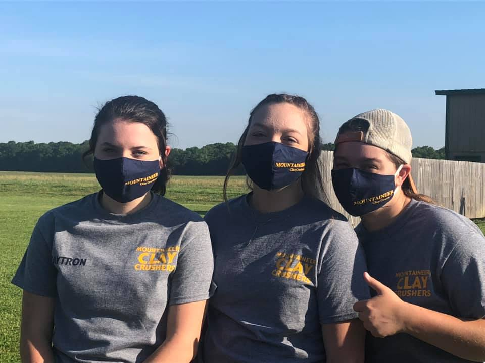 Makayla, Lilly and Caytron with MCC Masks (Stacey Goodwin) SCTP Nationals