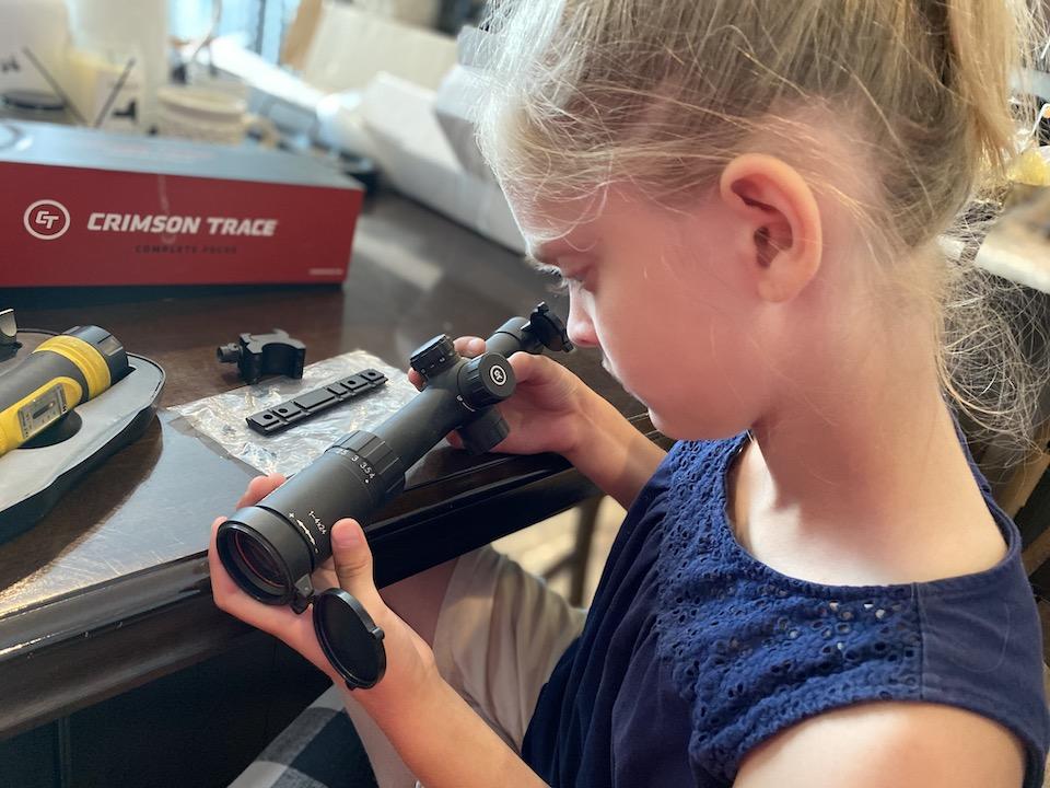 Crimson Trace 1-4x24mm Scope Lundvall
