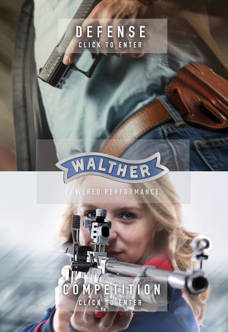 Walther website graphic