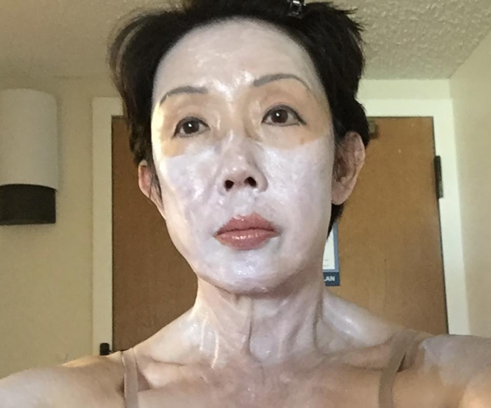 Vera Koo tons of sun block