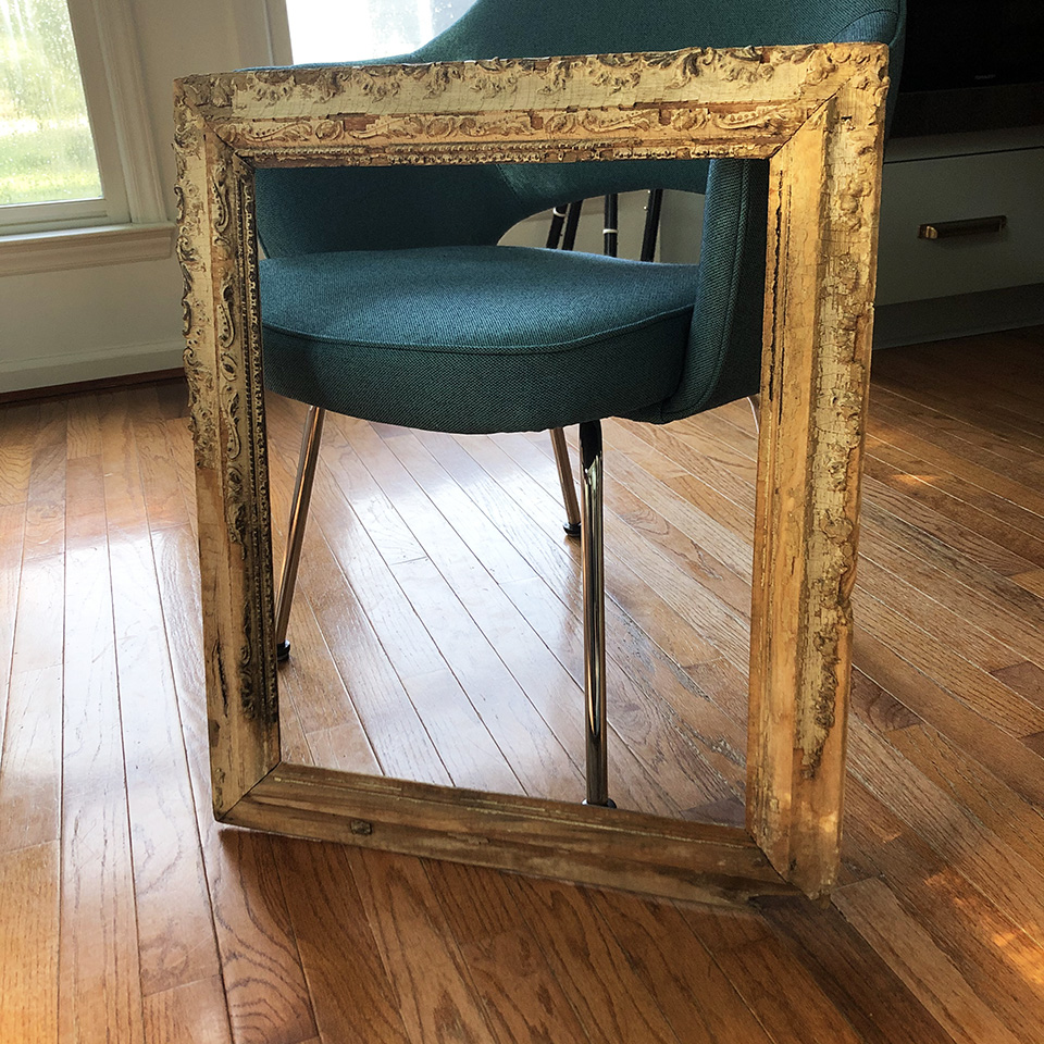 Frame After Cleaning