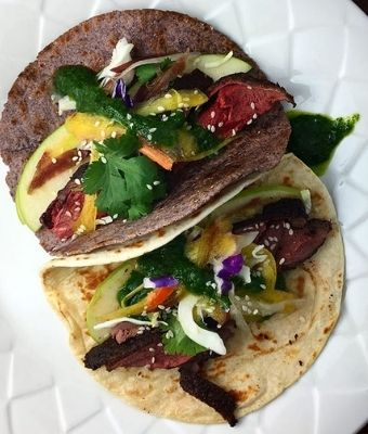 Goose tacos feature