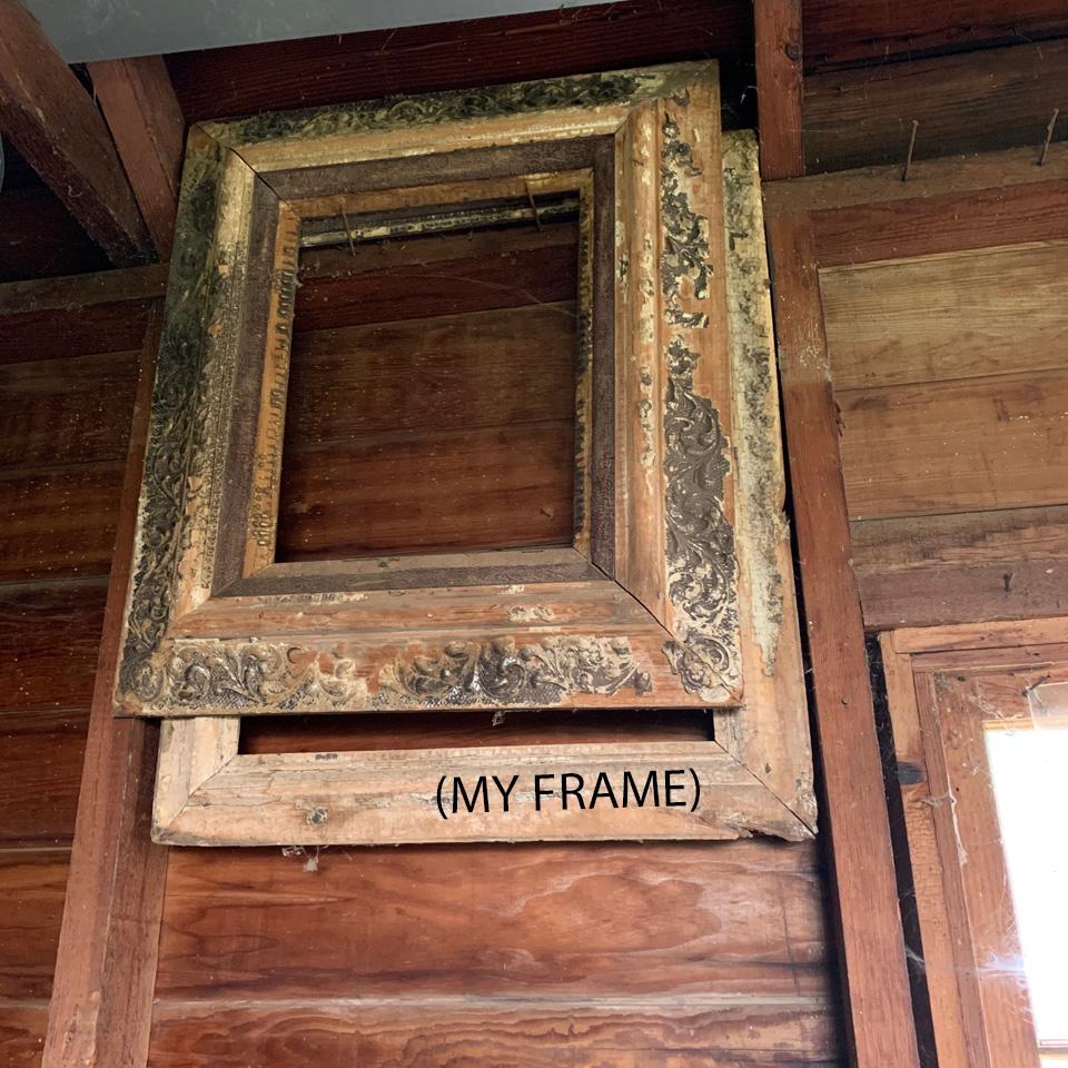 Old Frame in Garage