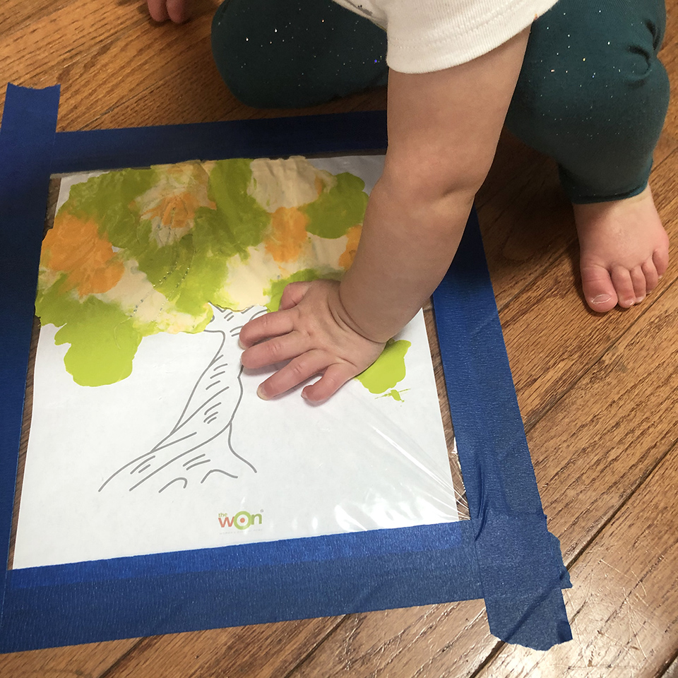 Toddler Painting Outdoor Coloring Templates