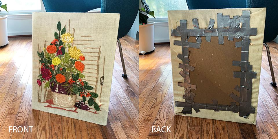 Yarn Art Collage