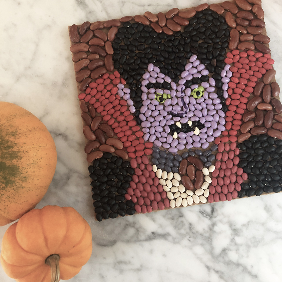 Dracula with Pumpkins