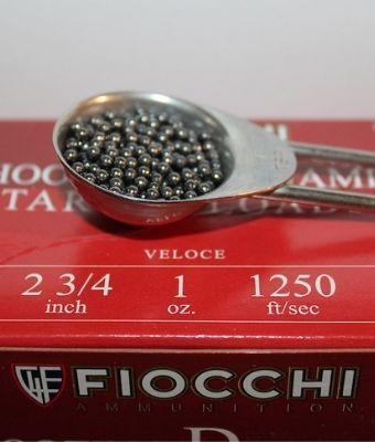 Fiocchi Shot Size feature