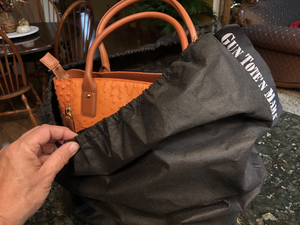 Leather Purse Care Tips put your GTM purse in bag