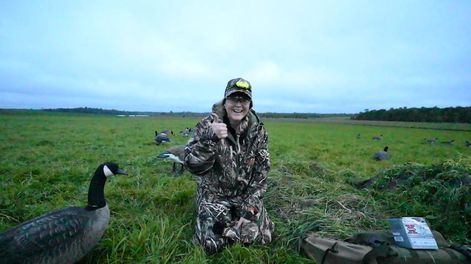 Goose Blind hunting