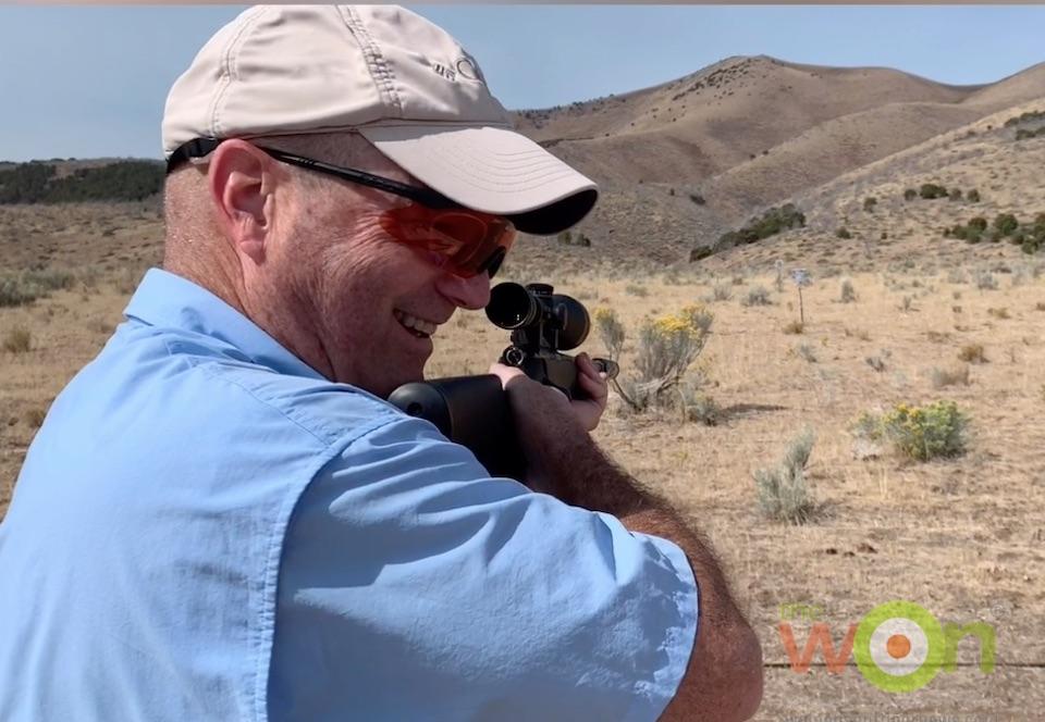 Jason Baird shooting SilencerCo's suppressor