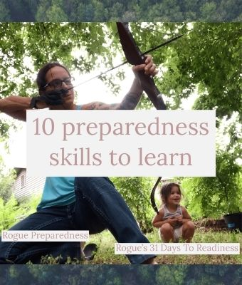 Preparedness skills feature