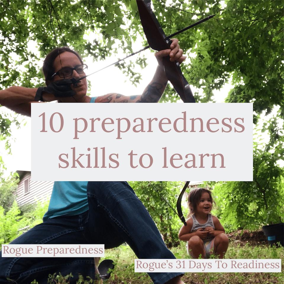 Preparedness skills