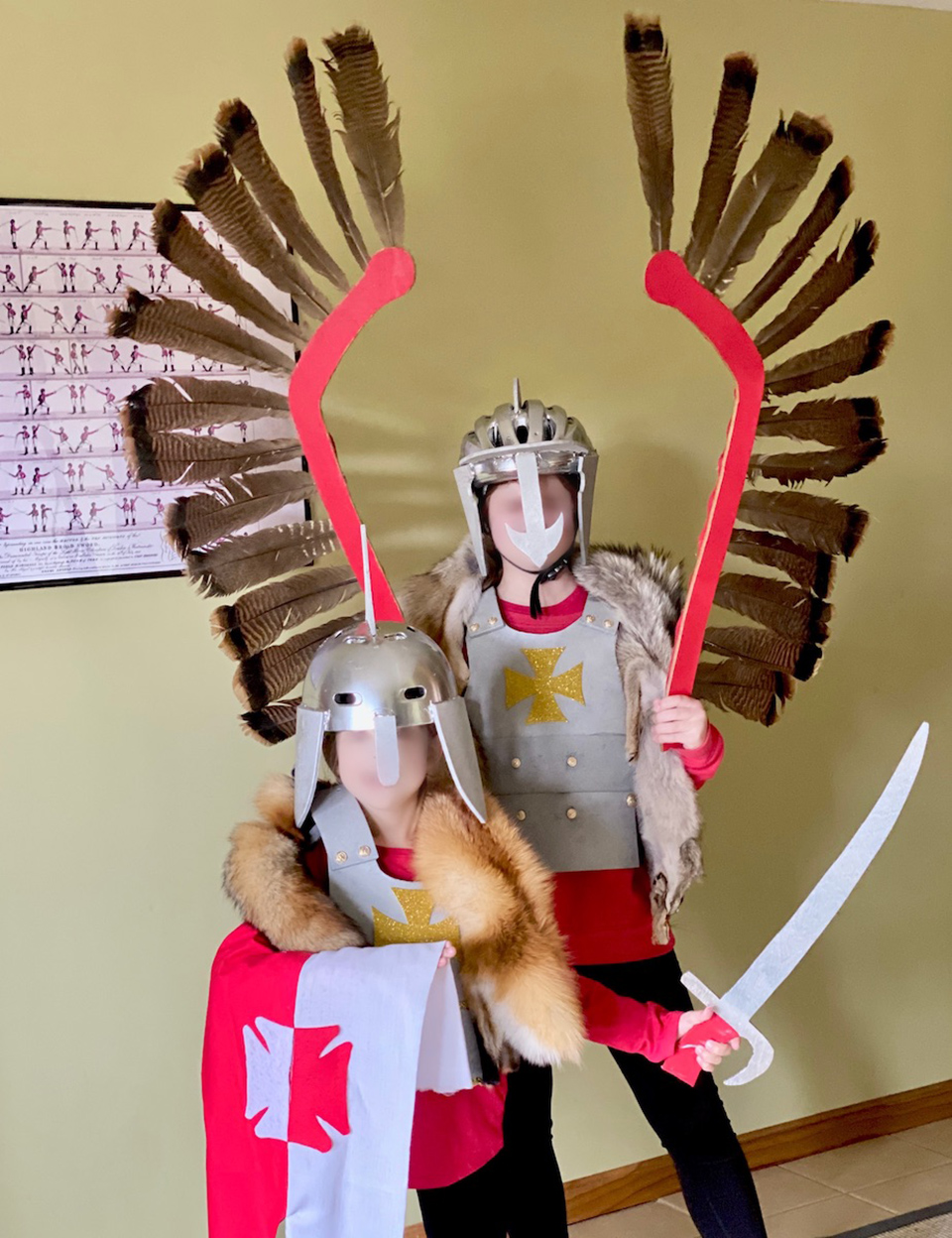 Wing Hussars have arrived for Halloween
