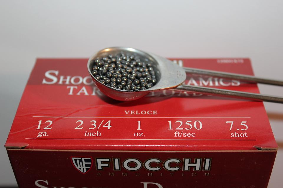 Fiocchi ammunition #7.5 shot size