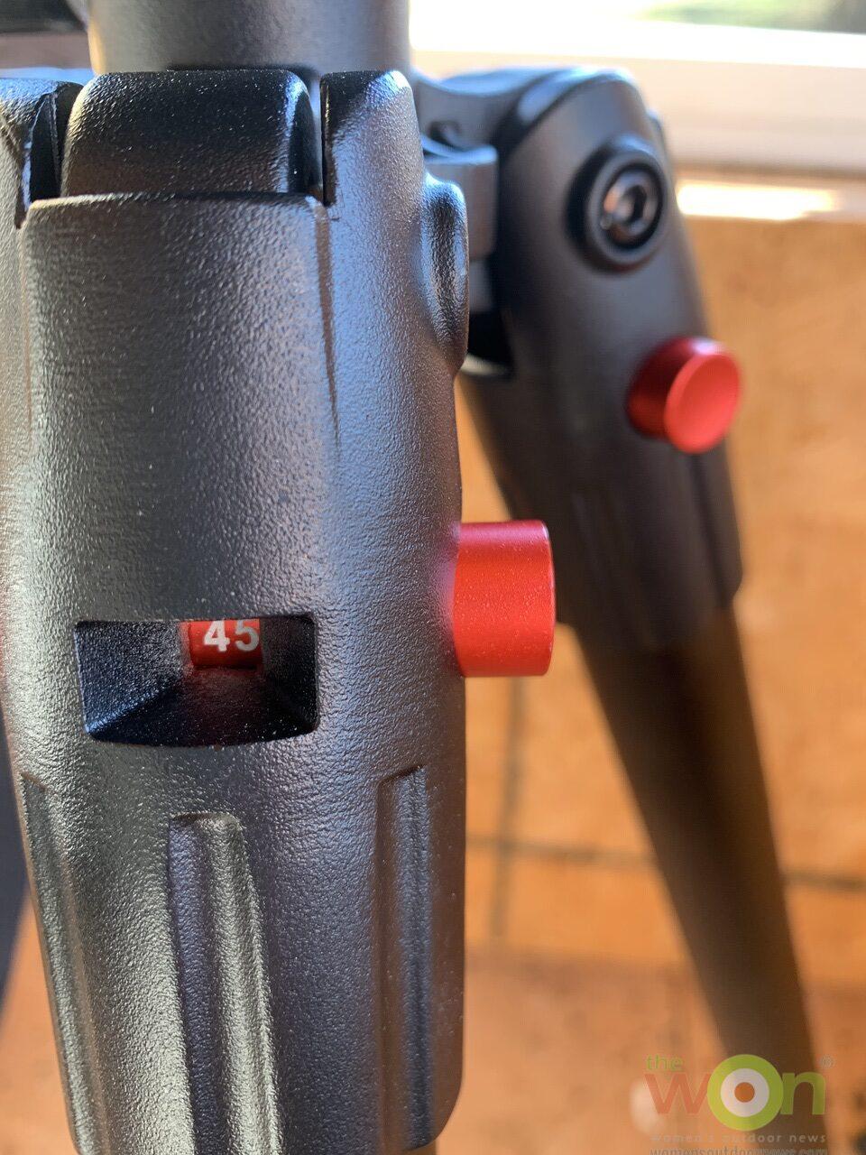 Deathgrip adjustment angle