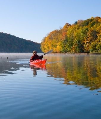 KAYAKING FALL feature