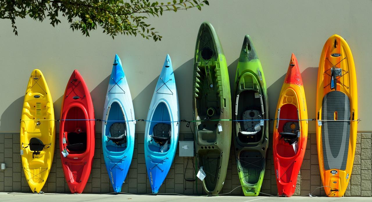 Kayaks Small Fishing Boats
