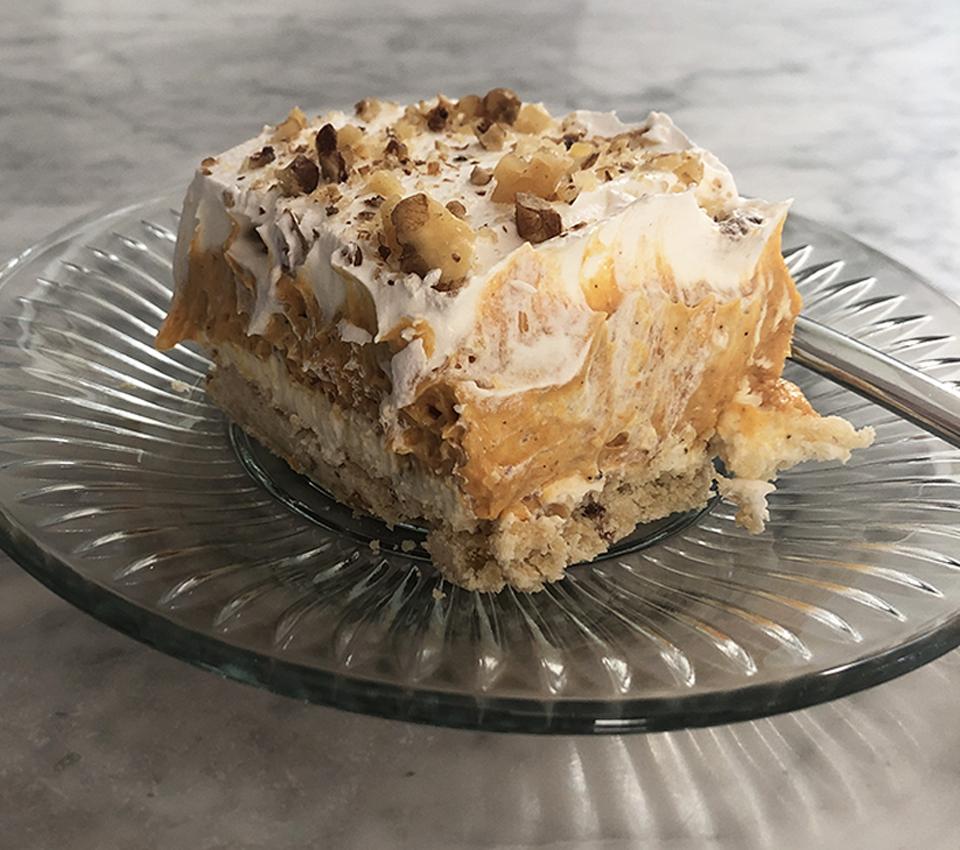 Layered Dessert Final 4 Pumpkin Pie Alternative