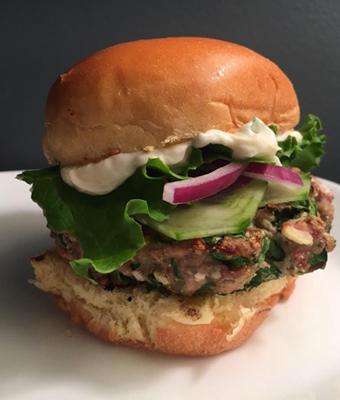 Pheasant Burger Jessica White feature