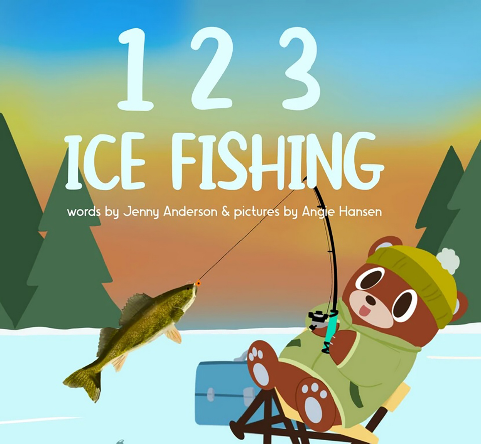 123 Ice Fishing Book Cover Official