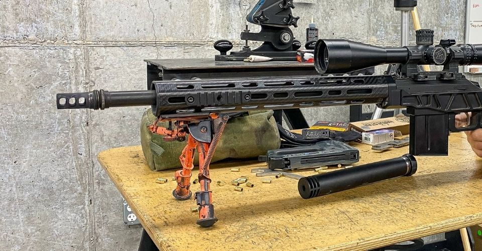 AR without Suppressor SilencerCo