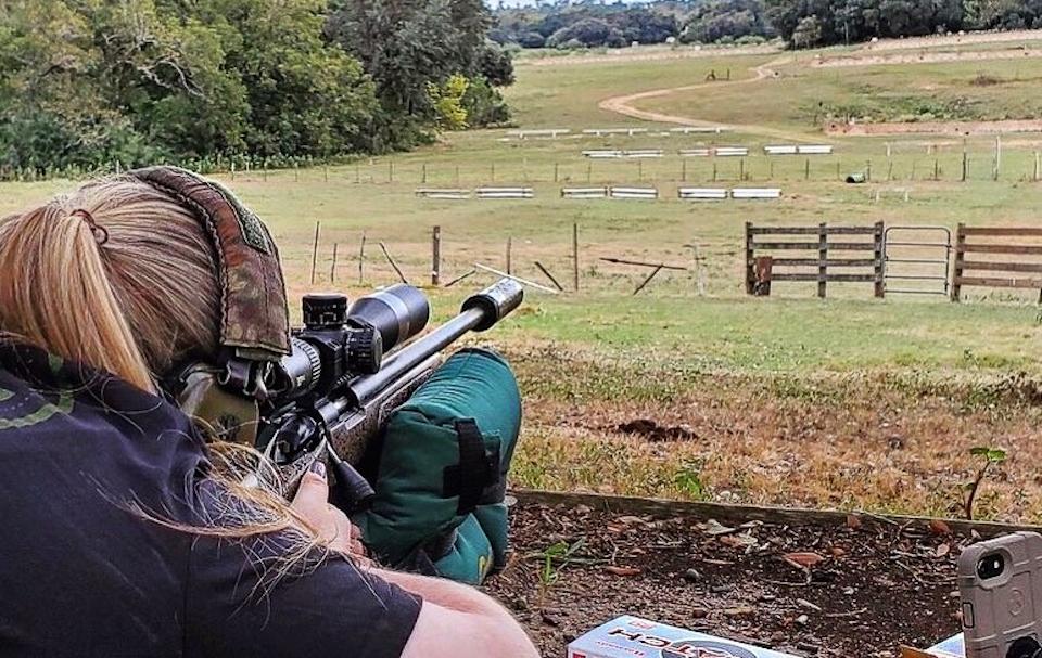 Brooklee Shooting Suppressed Bergara Rifle SilencerCo Omega