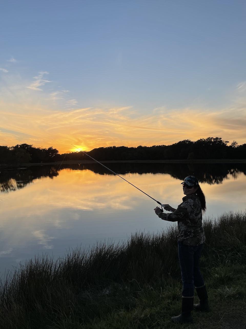 Karen Butler Fishing