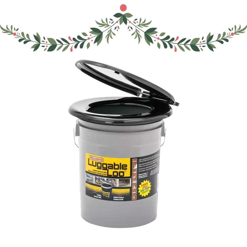 Luggable Loo product Outdoor Woman's Wish List