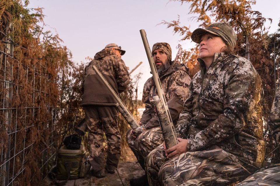 Lynne Green Duck Hunting