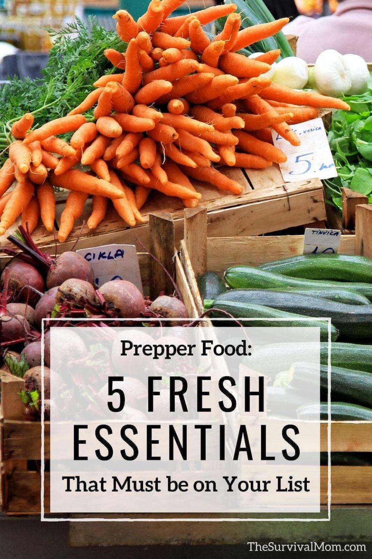 Prepper Food fresh