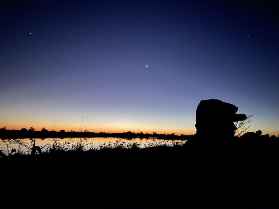 Stars Duck hunting
