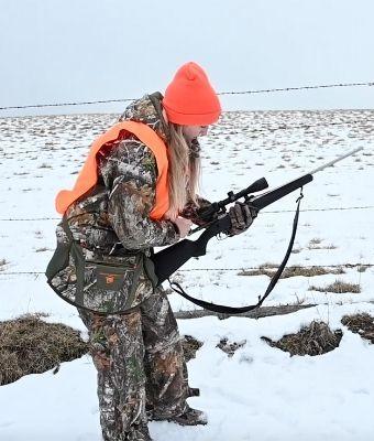 hunt safe handling firearm feature
