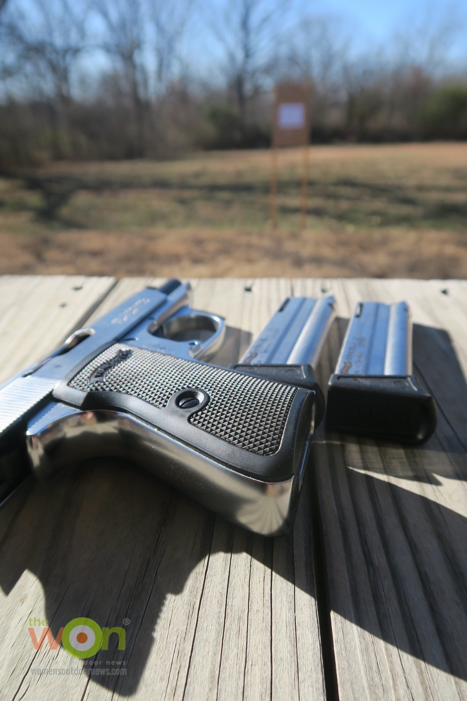 walther PPK/s 22 on range