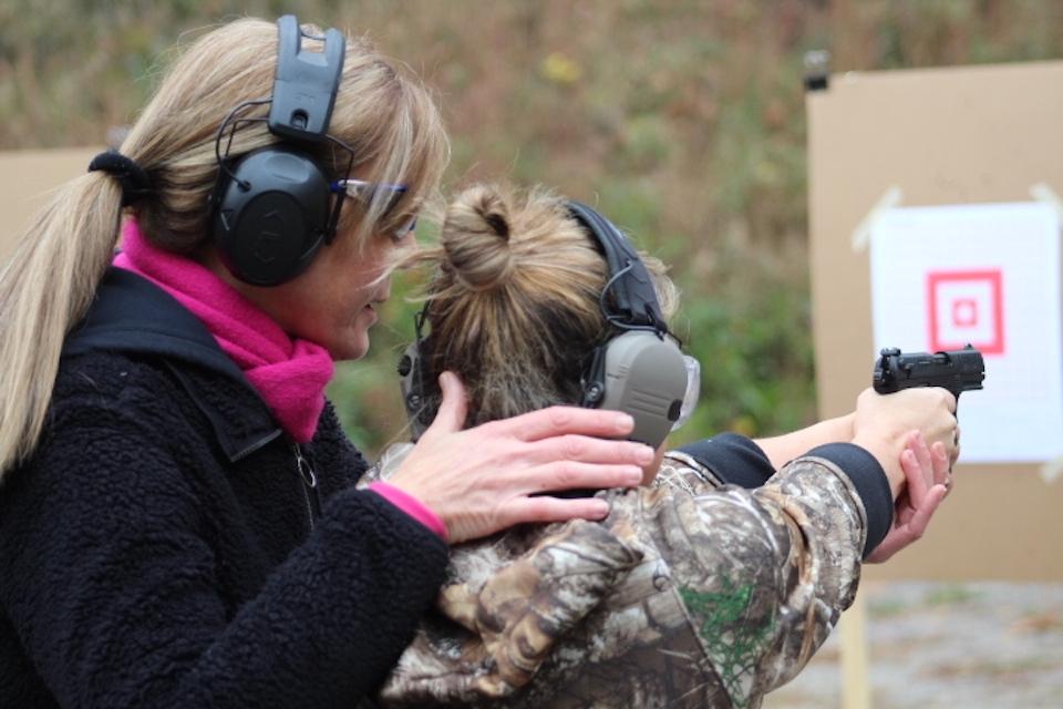 Kelly Pidgeon teaching at ARMED and Feminine
