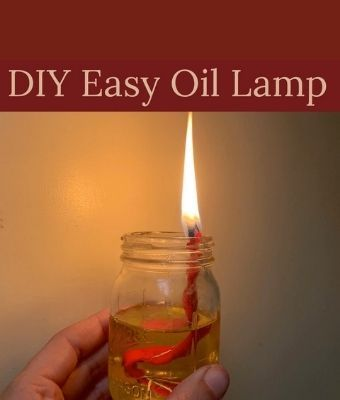DIY Oil Lamp feature