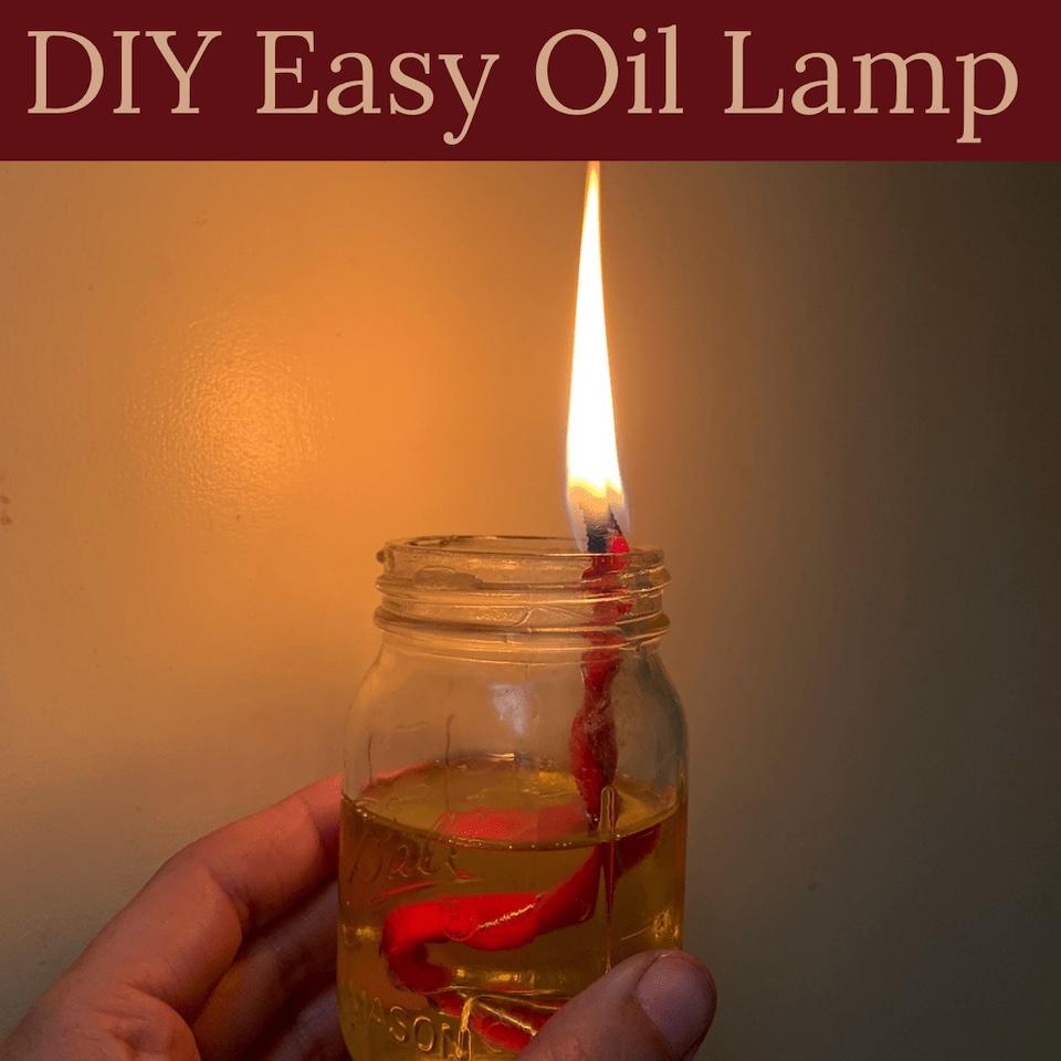 Rogue Preparedness: Easy DIY Oil Lamp